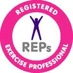 Tim is a member of the Register of Exercise Professionals.